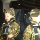 HEADED HOME AFTER A WEEKEND HUNT...ZONKED!