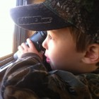 SCANNING THE HORIZON FOR DEER OR HOGS!