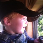JACK WATCHING SOME COWS!