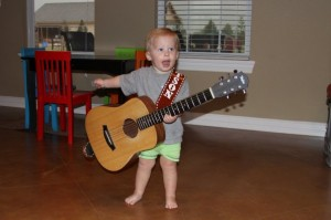 JACK SINGING HIS LITTLE HEART OUT!