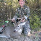 MR HAGLER WITH HIS FIRST BOW KILL!