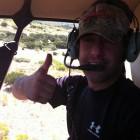 HUNT CREEK RANCH DEER SURVEY HELICOPTER RIDE
