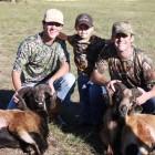 JAKE, DADDY AND HUNTER AT HUNT CREEK RANCH!
