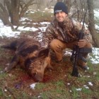 BOAR I SHOT WITH MY FRIEND HUNTER COOLEY
