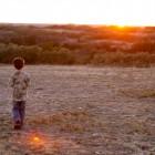 JAKE ENJOYING A HUNT CREEK RANCH SUNSET!