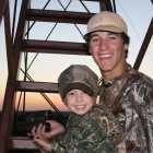 JAKE AND HIS BEST BUD HUNTER HUTCHINSON