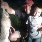 DADDY, JAKE AND JACK RABBIT!